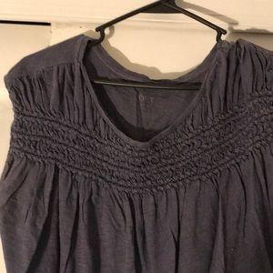 LOFT Tops - Cap sleeve T-shirt